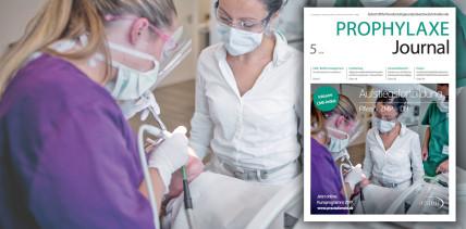 Von Biofilm- bis Hygienemanagement – aktuelles Prophylaxe Journal online
